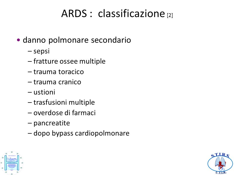 ARDS : classificazione [2]
